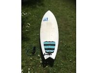 Quiver Hart Attack Surfboard 5'10""