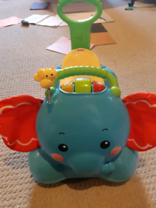 Fisher price walker rider elephant