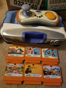 Vtech V-Motion V smile game system