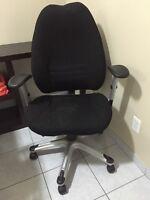 Black Multifunction Task Chair