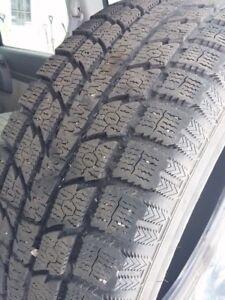 4 x toyo gsi-5 winter tires 235-65-17 235/65 17 235/65/17