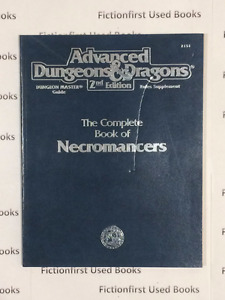 """Roleplay Manual: """"Complete Book of Necromancers AD&D 2nd"""""""