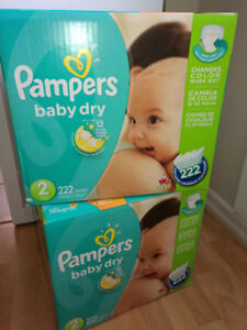 Pampers baby dry size 2