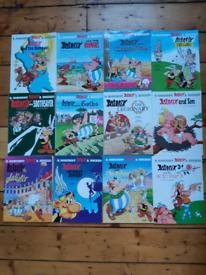 Asterix and Obelix comic books x 18