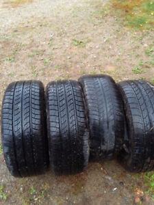 Four (4) Cooper CS4 Touring Tires 215-60R-15