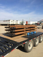 """3-1/2"""" 10' screw pile extensions for sale"""