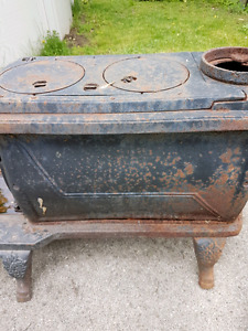 Antique woodstove