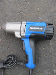 impact  électrique mastercraft  1/2  pouces  7.5 a