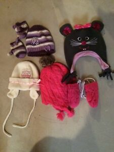 Girls hats and mitts London Ontario image 1