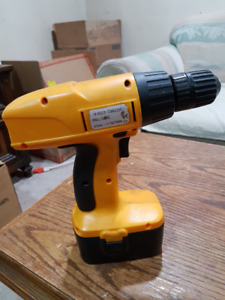 18v cordless drill with battery, no charger