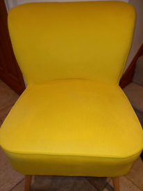 Yellow Chair only £50. RBW Clearance Outlet Leicester City Centre Bank