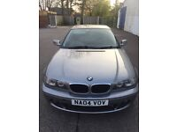 BMW coupe 320cd 2litre turbo diesel 150bhp