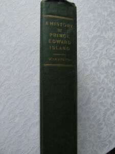 A HISTORY OF PRINCE EDWARD ISLAND  by  WARBURTON,1923