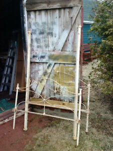 Antique Iron Bed For Sale