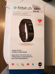 Fitbit Charge 2 - BRAND NEW - 180$ OBO