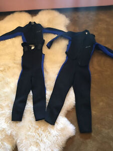 Children's Bare Wetsuits ( size 6 & 10 )