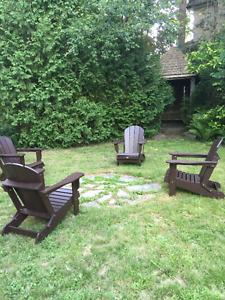 Adirondack chairs - Leisure Line/High Quality