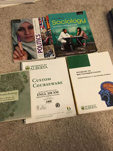 Psychology, sociology & political science textbooks for sale!!
