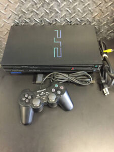 PS2 with controller, 2 8mb mem cards & power cord in Cumberland