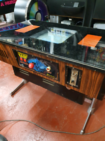 "Retro arcade "" moonbase"" cocktail table"