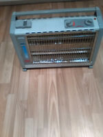 Quartz radiant heater/humidifier