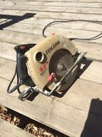 Circular saw, older but works well
