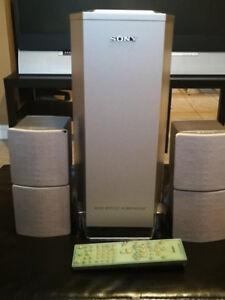 Sony DAV-S500/ 5.1 Ch Compact AV System 4 Speakers / Subwoofer
