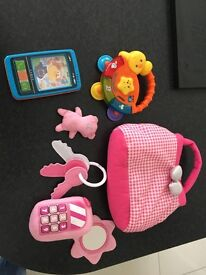 V tech/ chad valley baby toddler toy bundle- excellent condition! Still available!