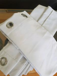 Curtains (Grayish White)