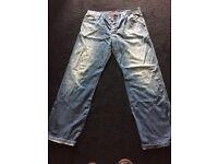 Men's genuine Hugo boss red label jeans
