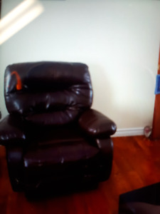 Faux Leather Recliner for Sale