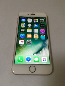 Mint Condition iPhone 6, 16GB, Gold, Rogers