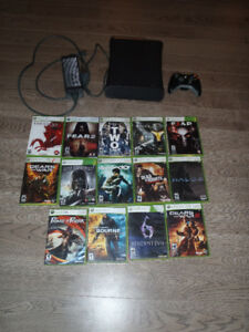 Xbox 360 With 14 Games or WII System with 6 Games!!