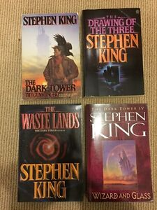 The Dark Tower paperbacks 1-4