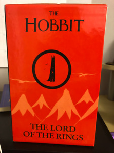 The Hobbit and The Lord of The Rings - Books