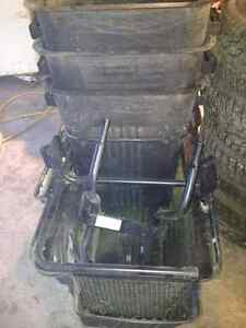 TRIPPLE BAG SYSTEM COMPLETE FOR RIDING MOWER
