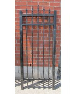 "ALUMINUM GATE 30"" wide, 6 ft high – Surplus Inventory – SAVE 60%"