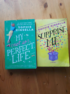 Sophie Kinsella Books- Surprise Me & My (not so) Perfect Life