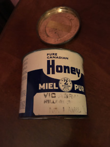 Ontario Honey Tin (empty)