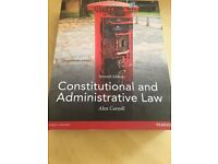 Constitutional and administrative law Alex Carroll