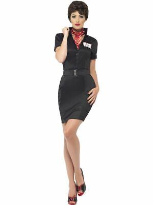 Grease Rizzo Kostüm, UK Größe 8-10, Fett Lizenziert - Fett Kostüme Uk