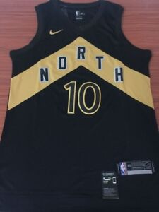 OVO BLACK AND GOLD TORONTO RAPTORS JERSEYS