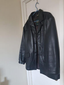 Large Genuine Danier Leather Jacket