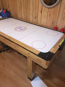 3x6 air hockey table