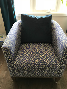 Drew chair from crate & barrel on sale