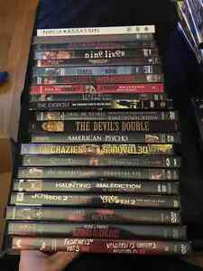 Collection Horror DVDs