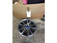 "X1 Vauxhall VXR 19"" Ronal Snowflake Alloy Wheel - Corsa Astra Insignia Zafira Alloys"