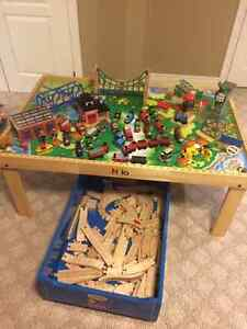 Thomas the Train with Wooden Table