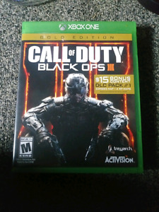 Black ops 3 brand new with code