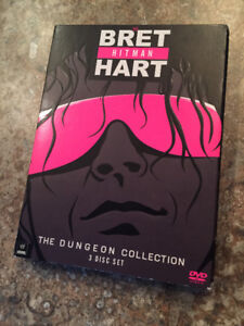 WWE Bret Hart Dungeon Collection DVD (3 disc)